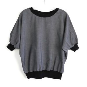 American Apparel batwing top XS S M L OS casual